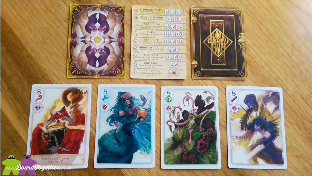 Hocus Cardgame, gameplay 01