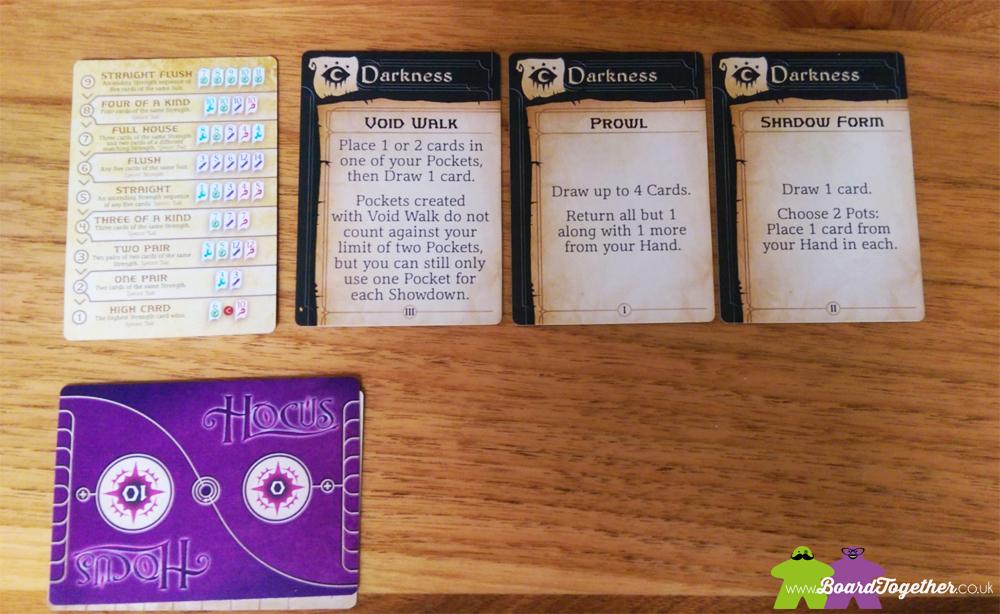 Hocus Cardgame gameplay 02